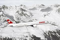 Dálkové lety ze Švýcarska boeingem 777–300ER