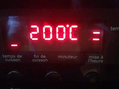 200 degrés