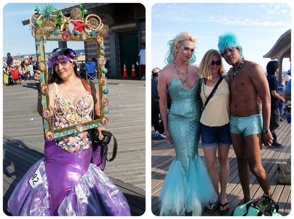 coney island mermaid parade Boardwalk