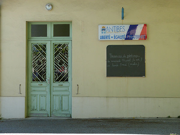 école antibes