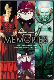 Memories The Movie - Katsuhiro Otomo Presents: Memories | Magnetic Rose | Stink Bomb | Cannon Fodder
