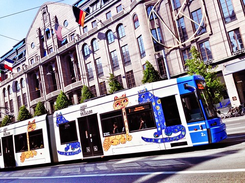 the abba tram