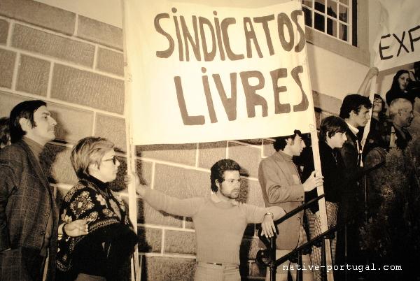 4 - 25 апреля 1974 года - революция гвоздик в Португалии - Каштелу Бранку