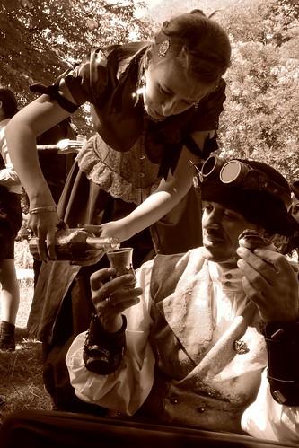 picnic steampunk