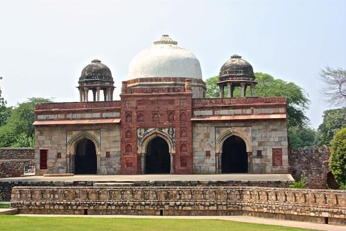 near Humayun's Tomb