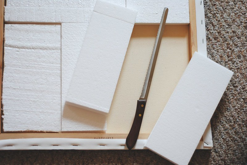 DIY Linen Board tutorial