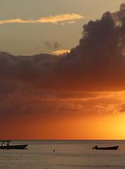 Holetown sunset seascape