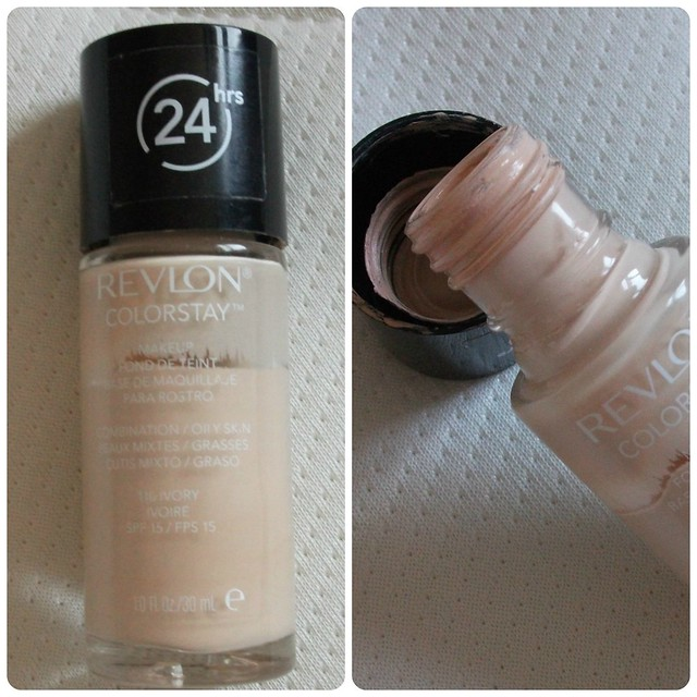 Revlon ColorStay Foundation CombinationOily Skin Review