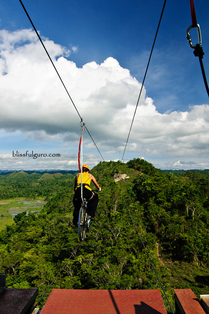 Chocolate Hills Adventure Park Bohol Zipbike