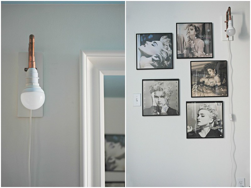 DIY: Copper Wall Sconce
