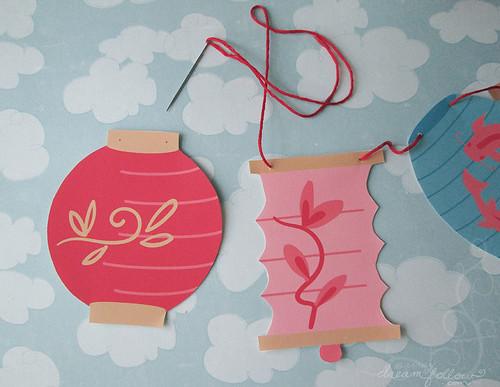 lantern stitching