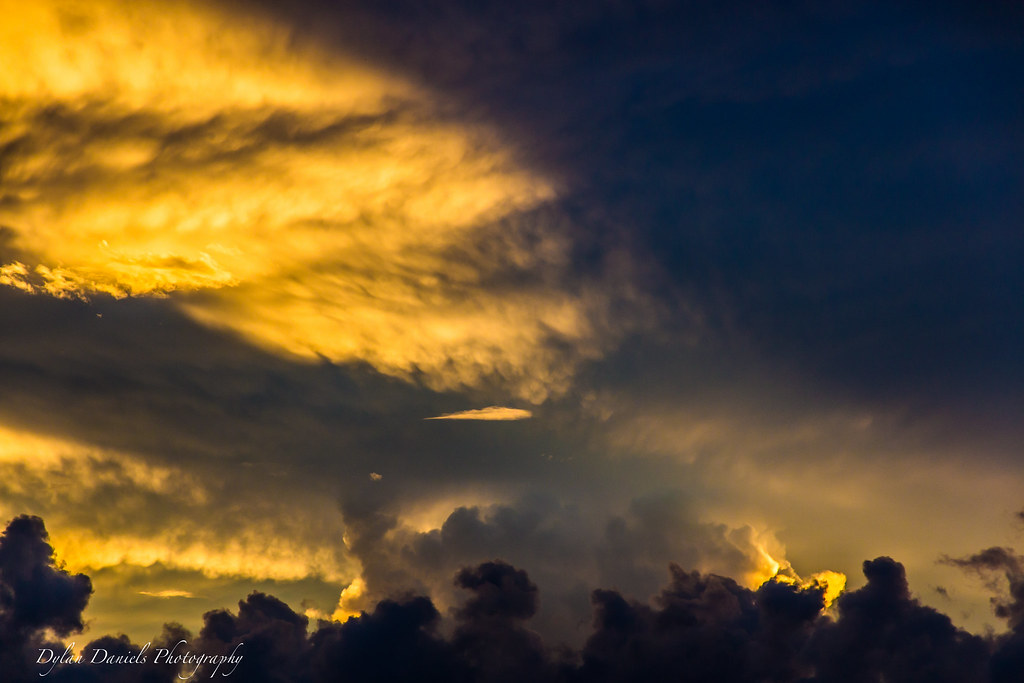 Yellow Cloud Sunset