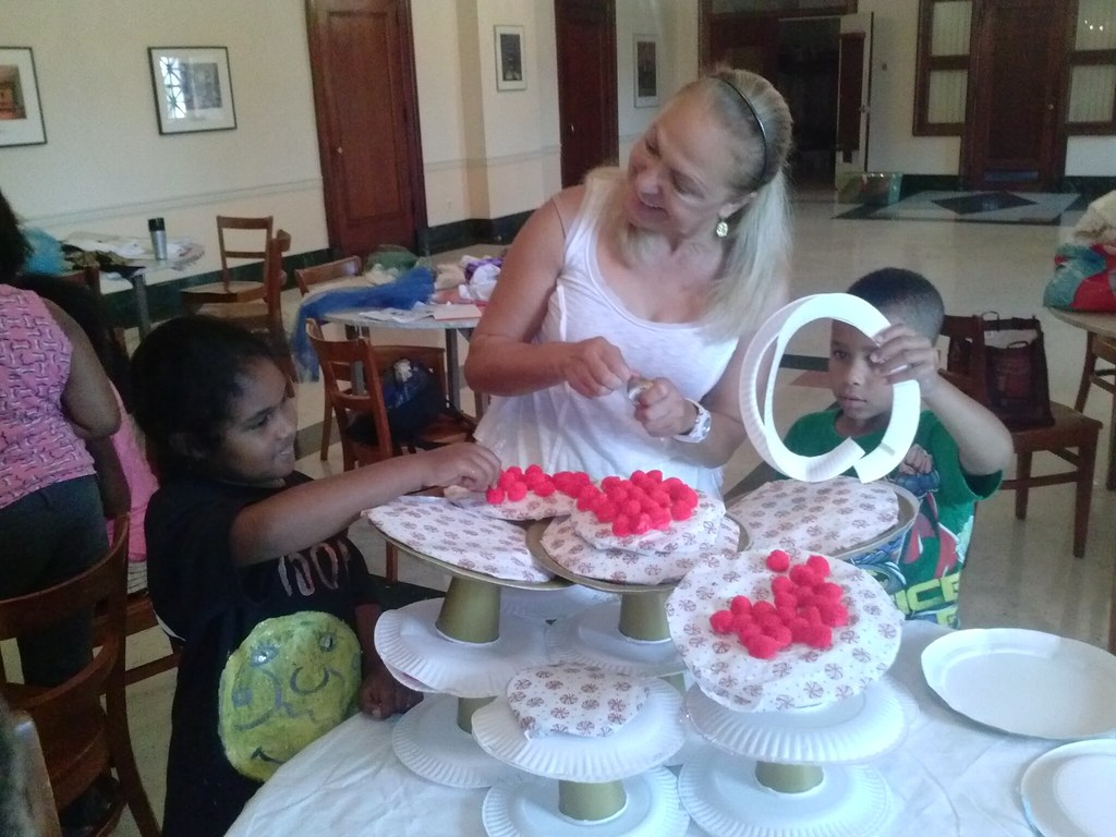 "<p>Ms. Lilia Slavova helped the kids to create beautiful art pieces, props and even special Gods' cakes-- don't miss our show of ""The Gofs and Goddesses' Bake off"" on Thursday, July 3, 2014 at 12 pm at the George Washington Masonic Memorial Theatre, 101 Callahan Drive, Alexandria VA</p>"