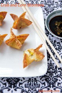 Crab And Corn Wontons