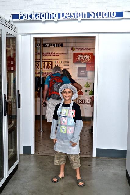 package design - Chocolate World Hershey PA USA