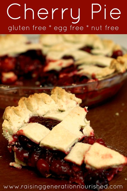 Cherry Pie :: Gluten Free, Egg Free, Nut Free