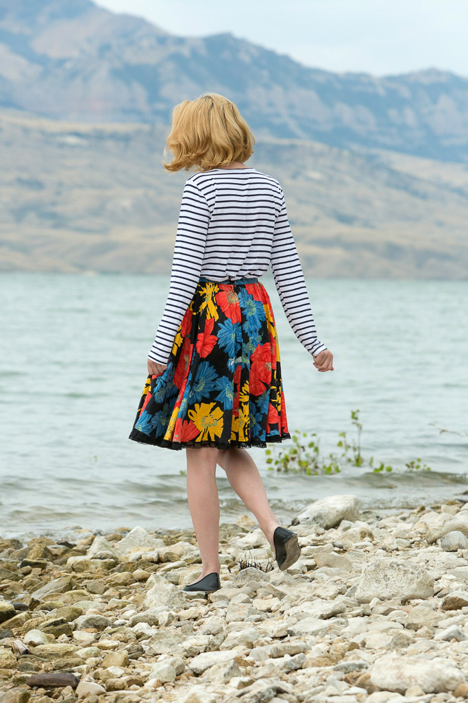 popbasic, stripes, skirt, farmers, market, never fully dressed, withoutastyle,