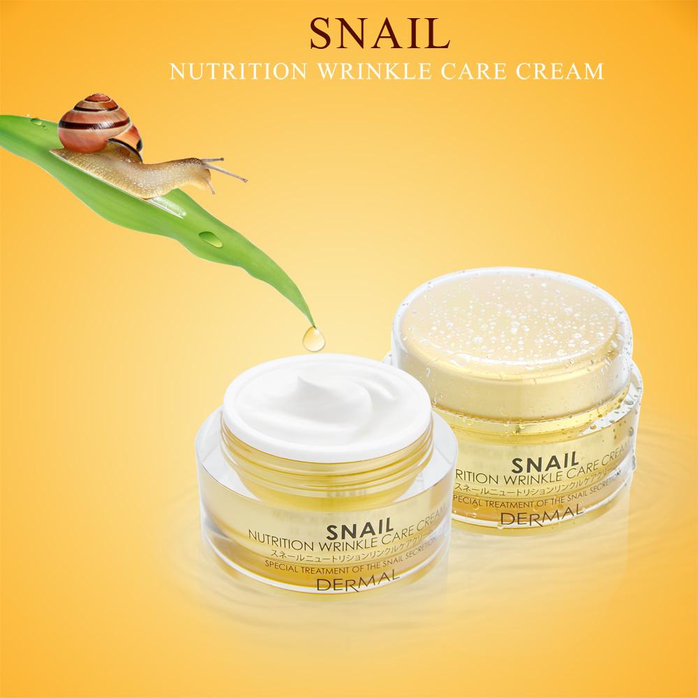 Kem ốc sên xoá nhăn mờ vết thâm và tái tạo da SNAIL Nutrition wrinkle care cream