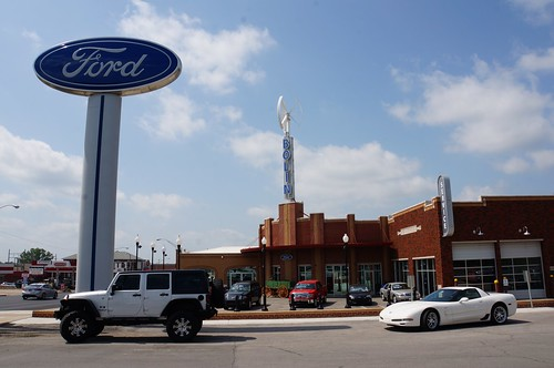 Bolin Ford - Route 66, Bristow, Oklahoma