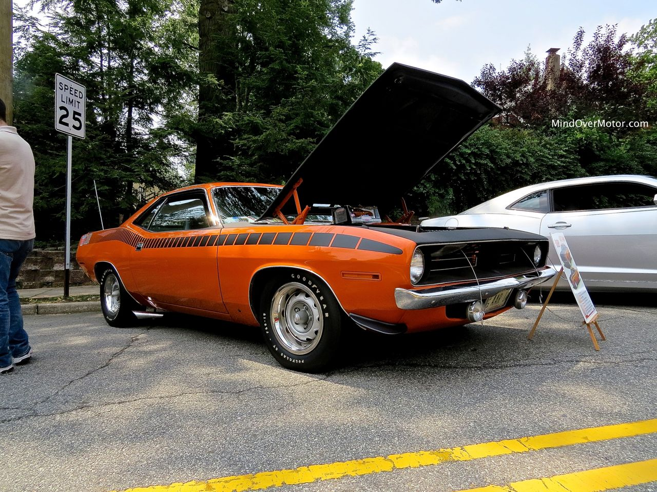1970 Plymouth AAR 'Cuda at the 2014 River Edge Car Show | Mind Over ...