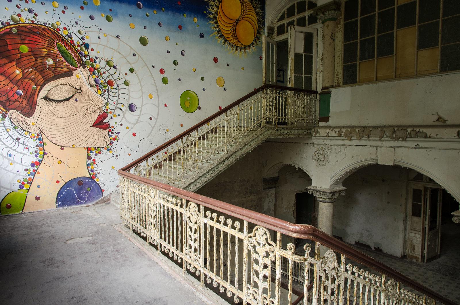 Urbex à Berlin - Le sanatorium de Beelitz-Heilstatten