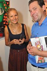 Charlotte Wiseman and Stanislav Schmelev