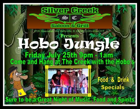 Hobo Jungle 7-25-14