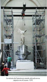 Vitória da Samotrácia - Museu do Louvre