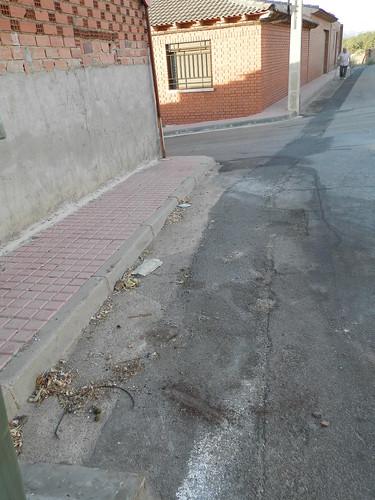 Suciedad en las calles