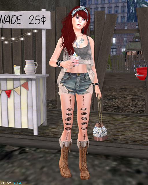 Summer Music Festival (New Post @ Second Life Fashion Addict)