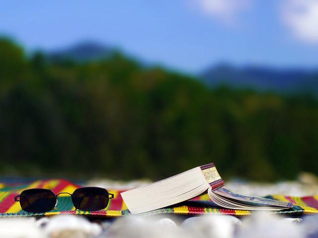 Book Buch Sunglasses Sonnenbrillen Leisure Time Freetime