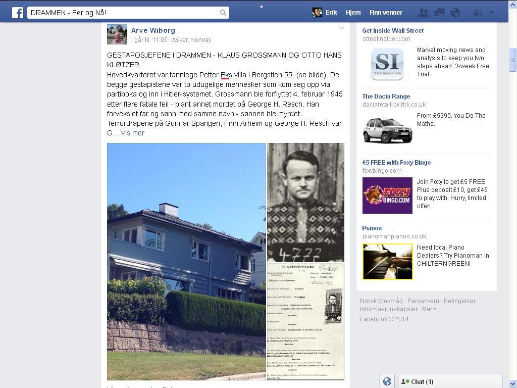 facebook ek