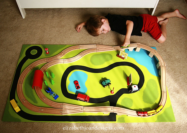Train & Cars Board 1