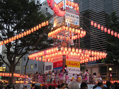 恵比寿駅前盆踊り大会2014
