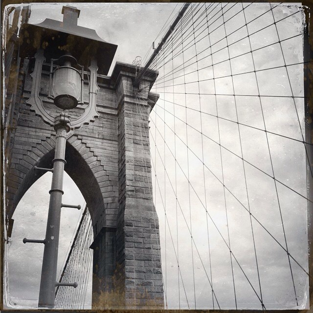 Another angle of the Brooklyn Bridge #brooklynbridge