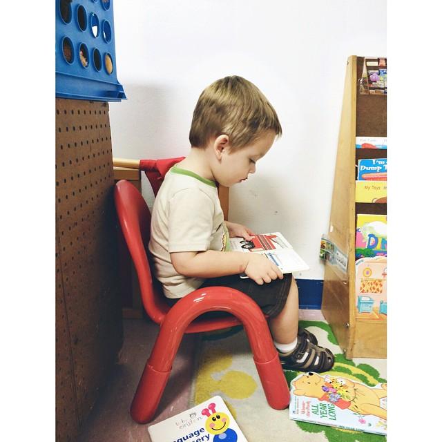 #pictapgo_app my little reader. #toddler #preschool #preschooler #books #cute