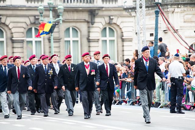Belgique bruxelles f te nationale belge anciens - Office nationale des anciens combattants ...