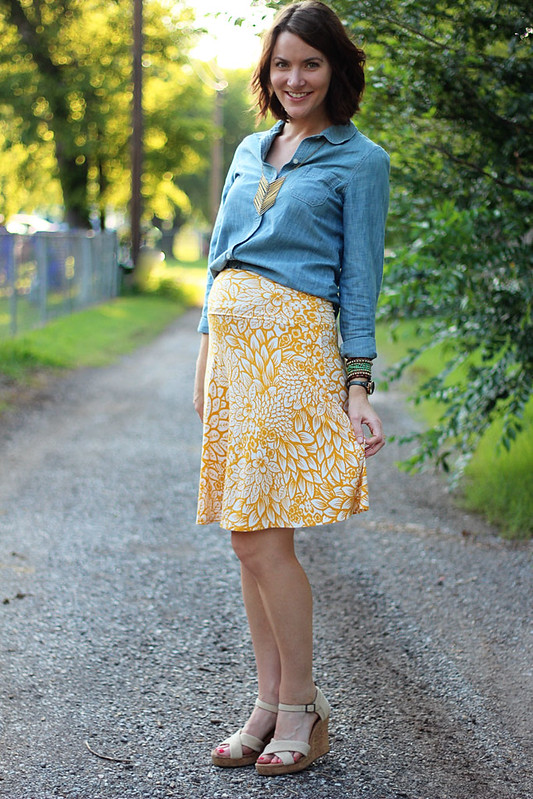 yellow-floral-skirt-chambray-1