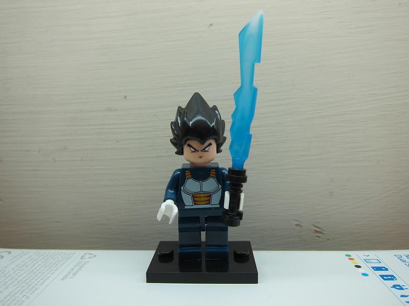 Dragon Ball Z LEGO Compatible Minifigures - Vegeta