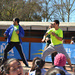 Una mañana de baile deleitó a Escuela Presidente Salvador Allende de Glorias Navales