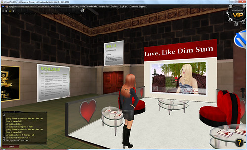 """Love, Like Dim Sum"" at the Virtual World Convention"