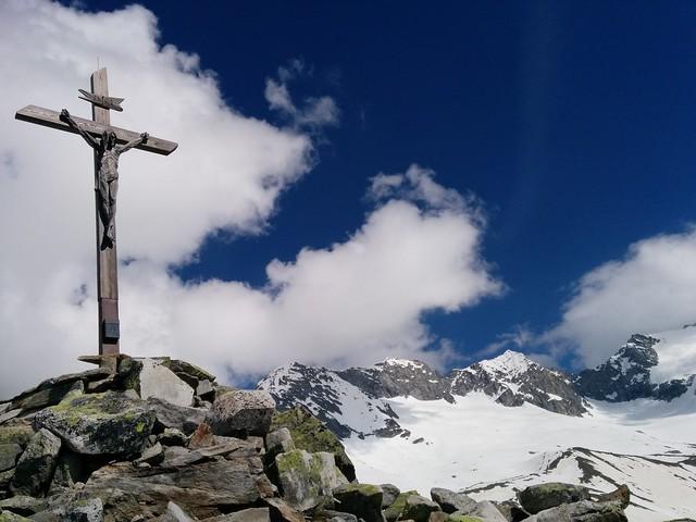 Gipfelkreuz Kreuzkofel, Tauferer Ahrntal