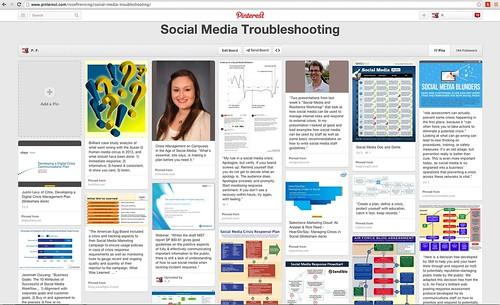 Social Media Troubleshooting