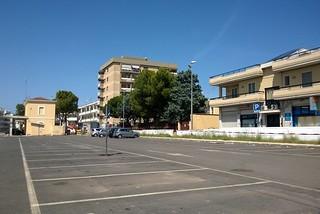 Noicattaro. Parcheggio ex stazione front