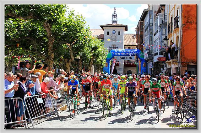 8 Vuelta a Burgos 2.014 Salida de Briviesca