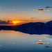 Crater Lake Sunrise, Oregon