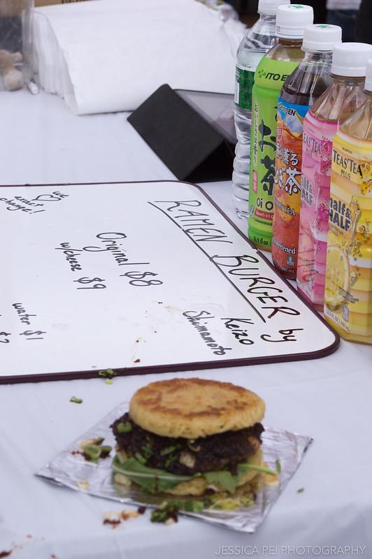 Ramen burger Smorgasburg
