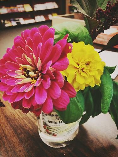 Flowers on my desk :)