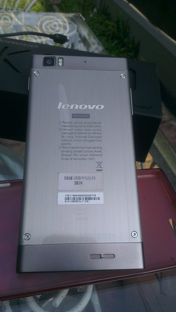 Jual Lenovo K900 Steel Grey 16 GB