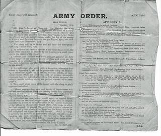 Army Order
